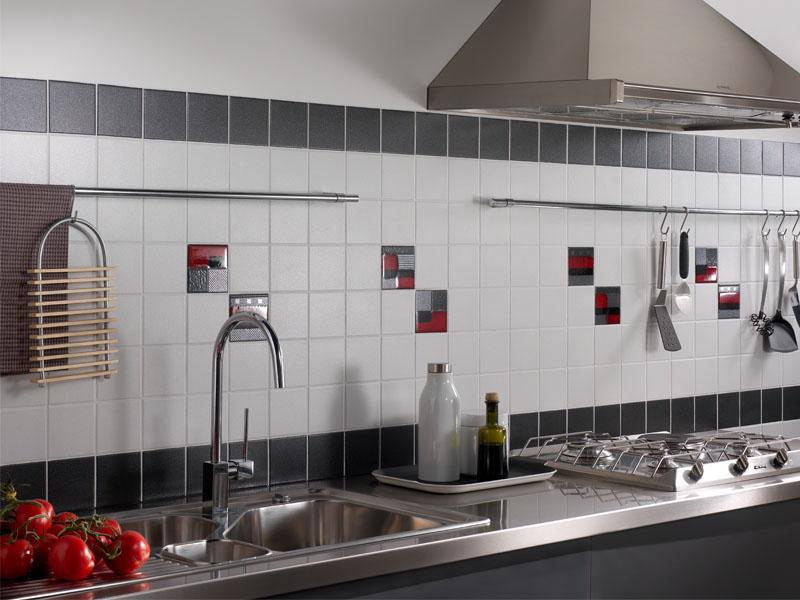 Fehrs baustoffe fliesenideen bad k che for Ceramique murale pour cuisine